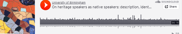 On heritage speakers as native speakers: description, identity, ideology